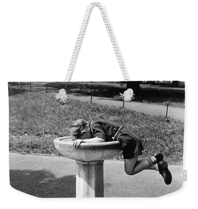 Fountain Weekender Tote Bags