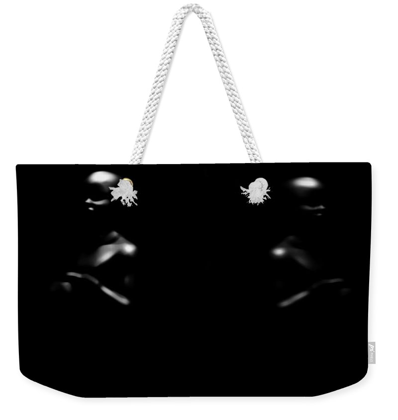 Photography Weekender Tote Bag featuring the photograph Boy In The Shadows by Jessica Shelton