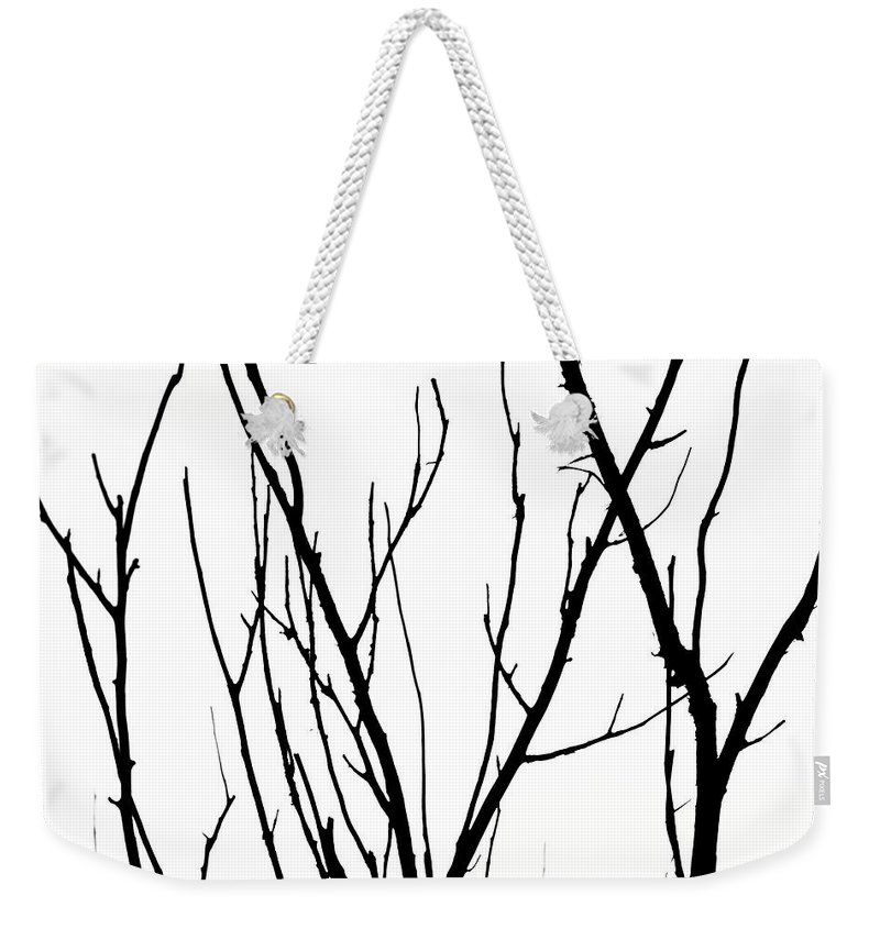Branches Weekender Tote Bag featuring the photograph Branches by Aidan Moran