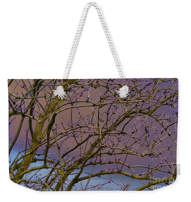 Branches Weekender Tote Bag featuring the digital art Branches by Carol Lynch