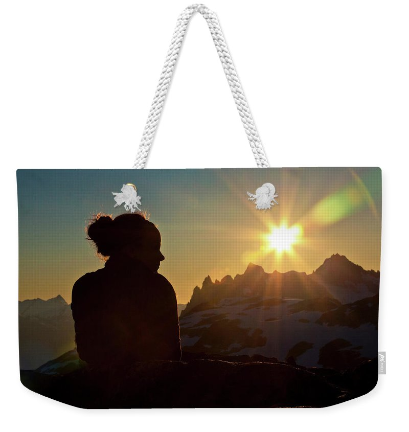 20-24 Years Weekender Tote Bag featuring the photograph Brandywine Mountain by Christopher Kimmel