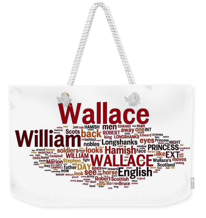 Braveheart Weekender Tote Bag featuring the photograph Braveheart Inspiration by Florian Rodarte