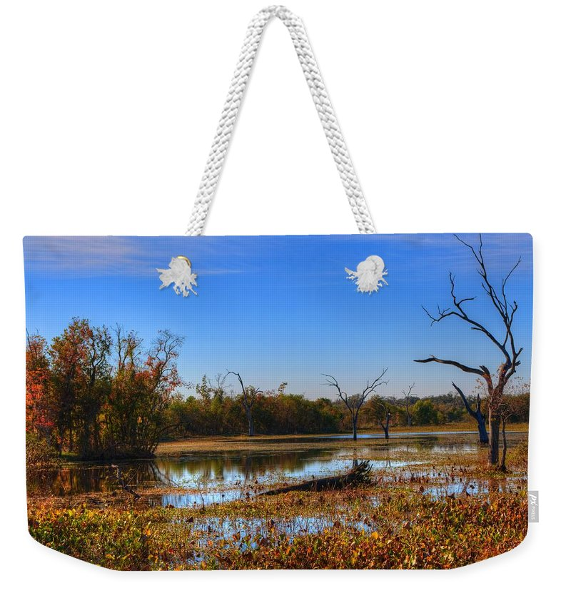 Swamp Weekender Tote Bag featuring the photograph Brazos Bend Swamp by David Morefield