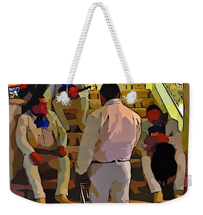 Break Time Weekender Tote Bag featuring the photograph Break Time by John Malone