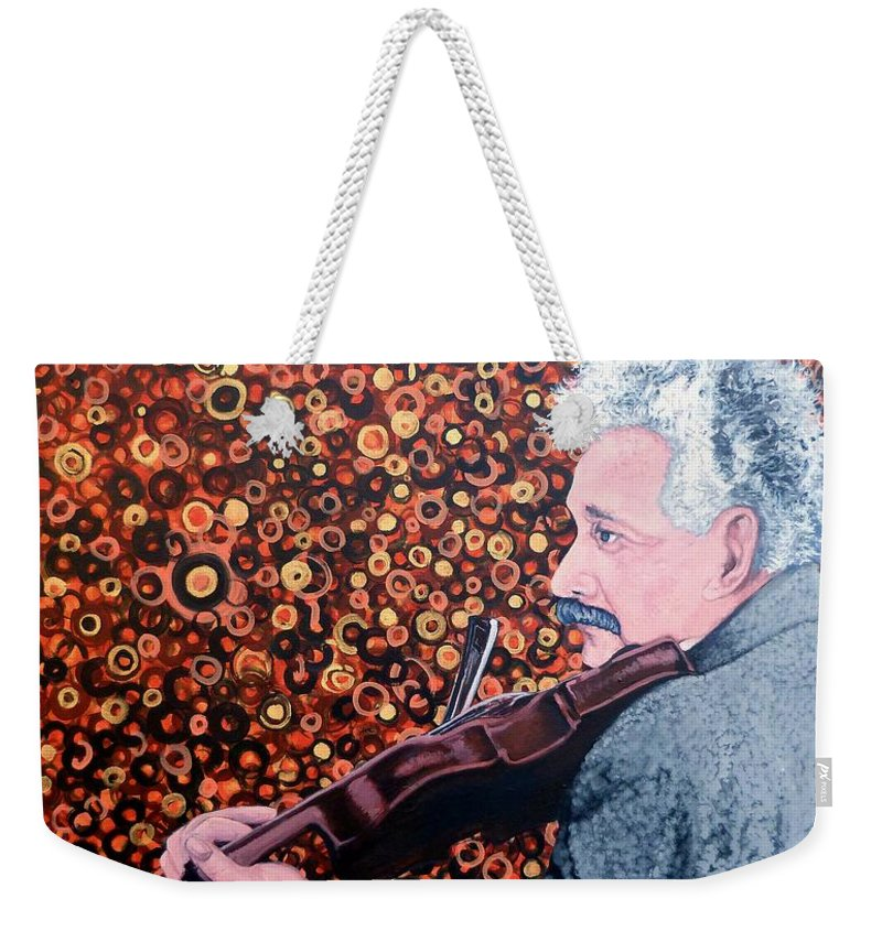 Break Time Weekender Tote Bag featuring the painting Break Time by Tom Roderick