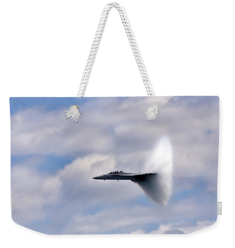 3scape Photos Weekender Tote Bag featuring the photograph Breaking Through by Adam Romanowicz