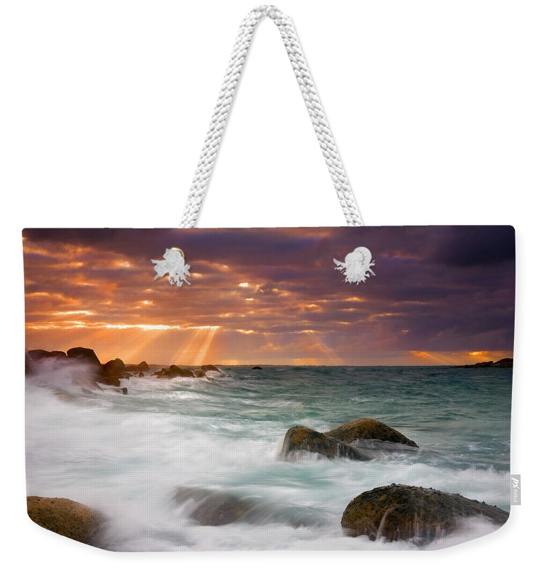 Dawn Weekender Tote Bag featuring the photograph Breathtaking by Mike Dawson