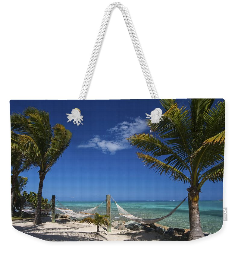 3scape Weekender Tote Bag featuring the photograph Breezy Island Life by Adam Romanowicz