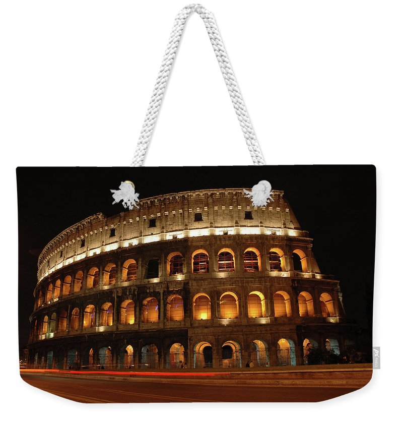 Rome Weekender Tote Bag featuring the photograph Bring Back The Gladiators by George Buxbaum