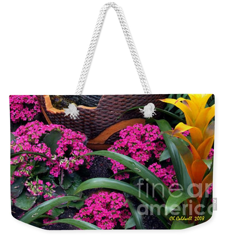 Pottery Weekender Tote Bag featuring the photograph Broken Dreams by CK Caldwell