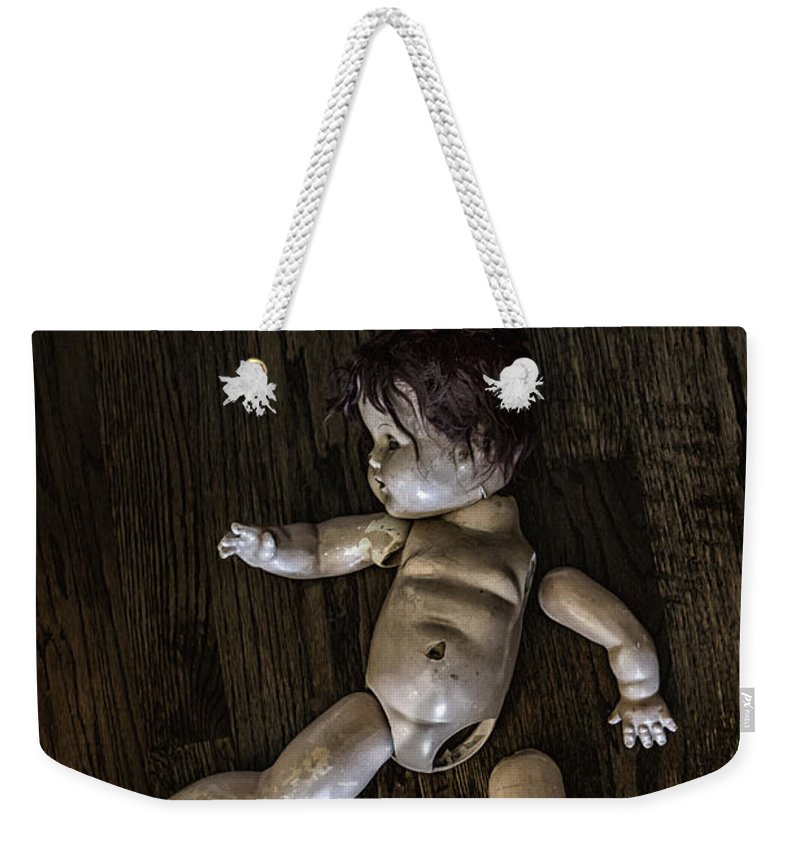 Broken Weekender Tote Bag featuring the photograph Broken To Pieces by Margie Hurwich