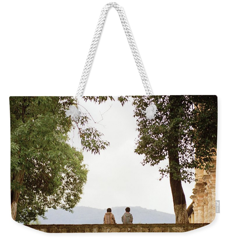 Friendship Weekender Tote Bag featuring the photograph Brotherhood by Shaun Higson