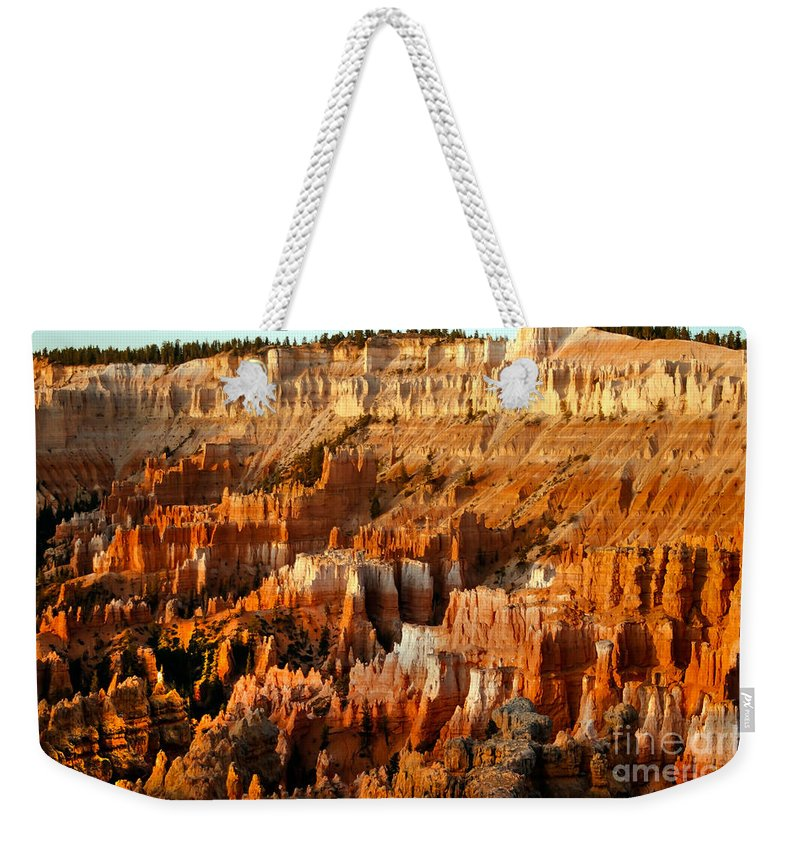 Bryce Canyon Weekender Tote Bag featuring the photograph Bryce Amphitheater by Robert Bales