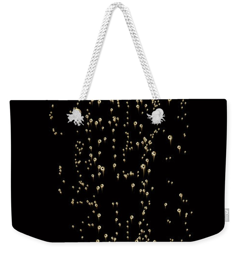 Alcohol Weekender Tote Bag featuring the photograph Bubble Champagne by Jamesachard