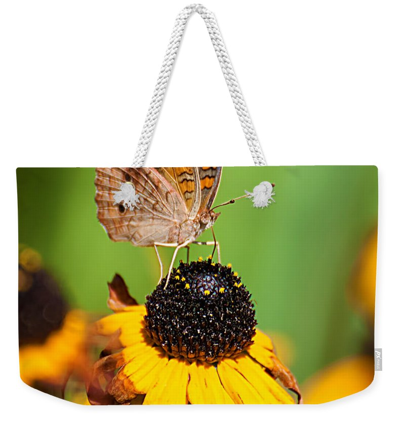 Buckeye Weekender Tote Bag featuring the photograph Buckeye 2 by Photos By Cassandra