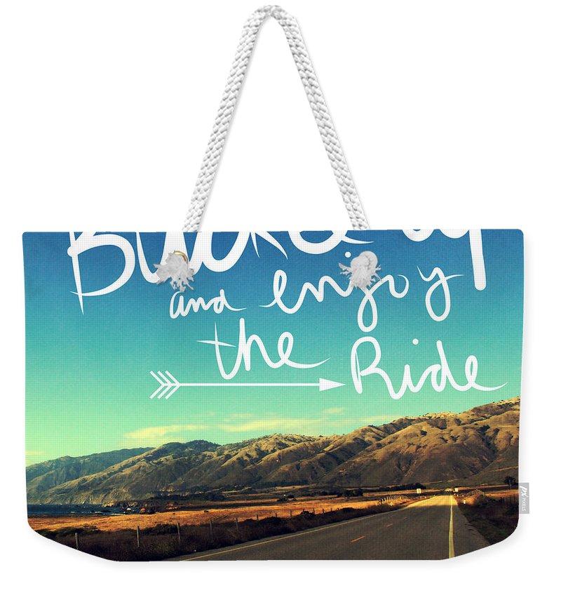 Driving Weekender Tote Bags