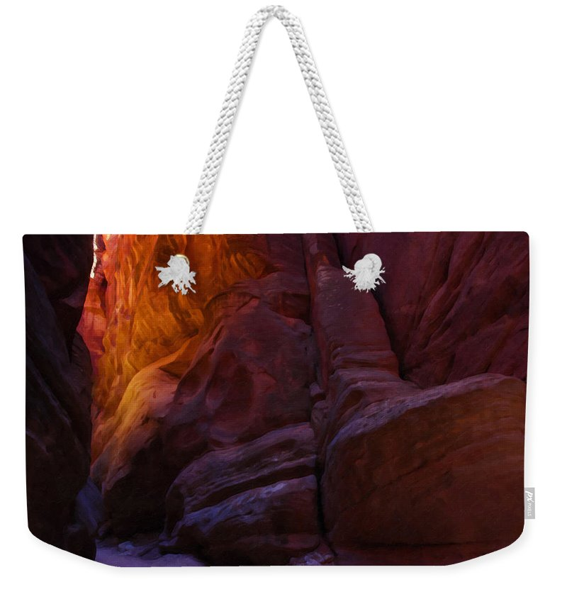 Beautyinnature Weekender Tote Bag featuring the photograph Buckskin Gulch 17 by Ingrid Smith-Johnsen