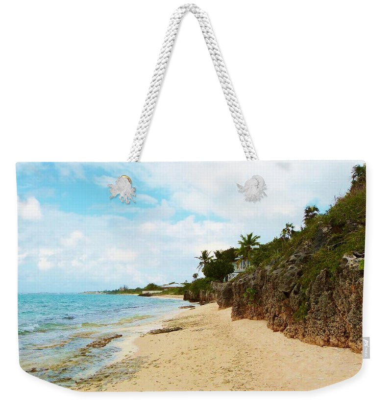 Color Weekender Tote Bag featuring the photograph Buena Vista by Amar Sheow