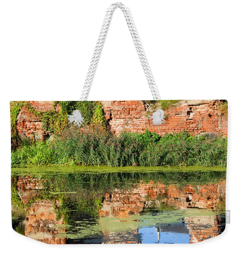 Gdansk Weekender Tote Bag featuring the photograph Building Destroyed During World War II by Artur Bogacki