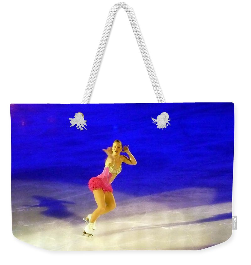 Action Photography Weekender Tote Bag featuring the photograph Burlesque by Lingfai Leung