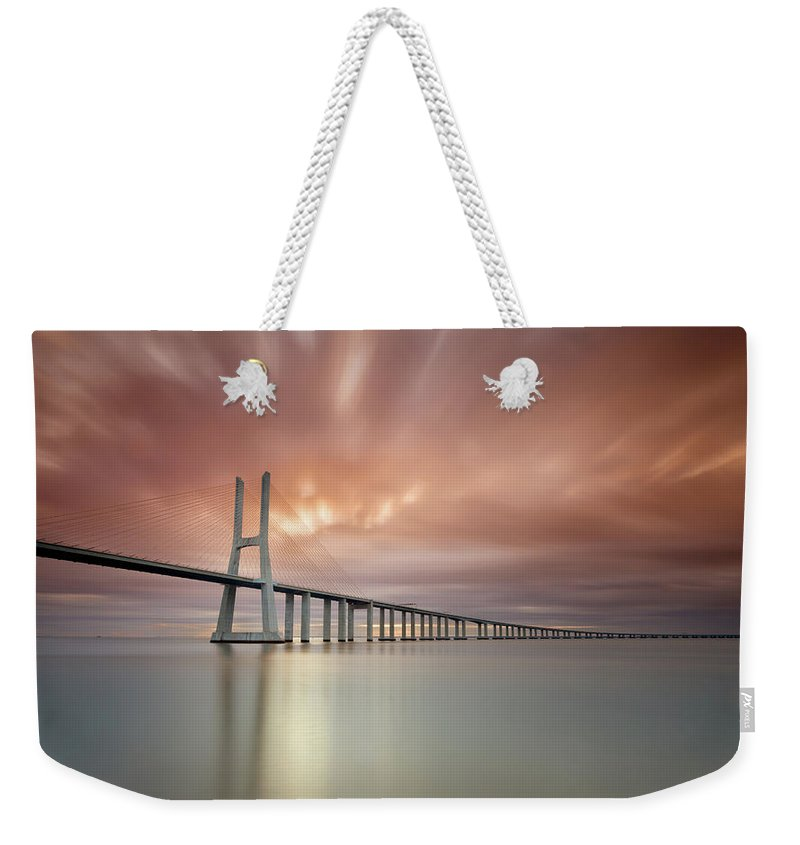 Tranquility Weekender Tote Bag featuring the photograph Burn, Fire Burn by Landscape Photography