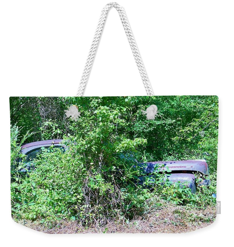 Bush Weekender Tote Bag featuring the photograph Bushed by Chuck Hicks