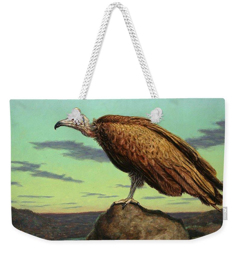 Vulture Weekender Tote Bags