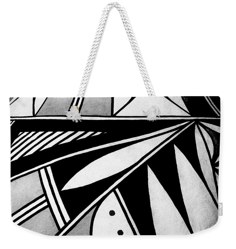 Design Weekender Tote Bag featuring the photograph By Design by Nikolyn McDonald