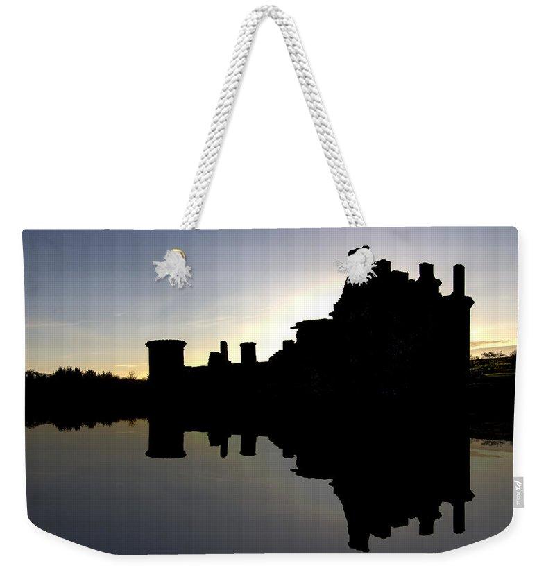 Caerlaverock Castle Weekender Tote Bag featuring the photograph Caerlaverock Castle - 6 by Paul Cannon