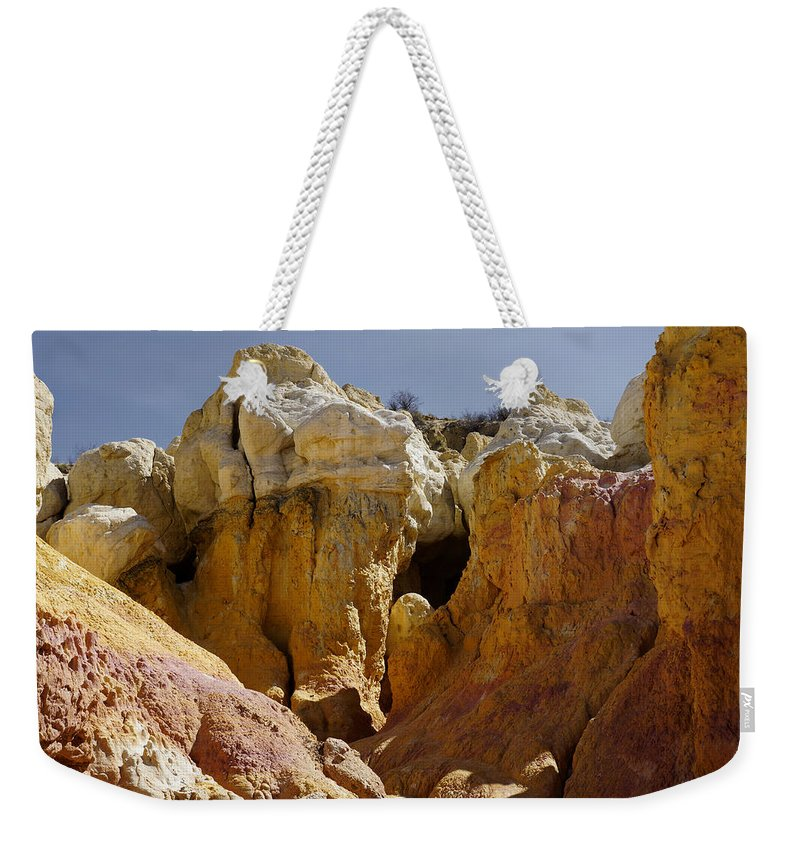 Calhan Paint Mines Weekender Tote Bag featuring the photograph Calhan Paint Mines 1 by Ernie Echols