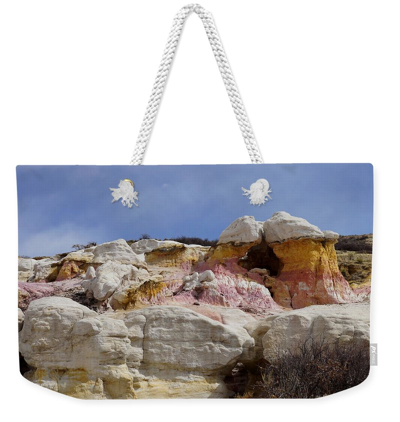 Calhan Paint Mines Weekender Tote Bag featuring the photograph Calhan Paint Mines 2 by Ernie Echols