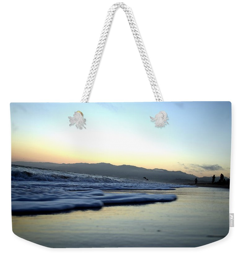 Sunset Weekender Tote Bag featuring the photograph California Sunset by La Dolce Vita