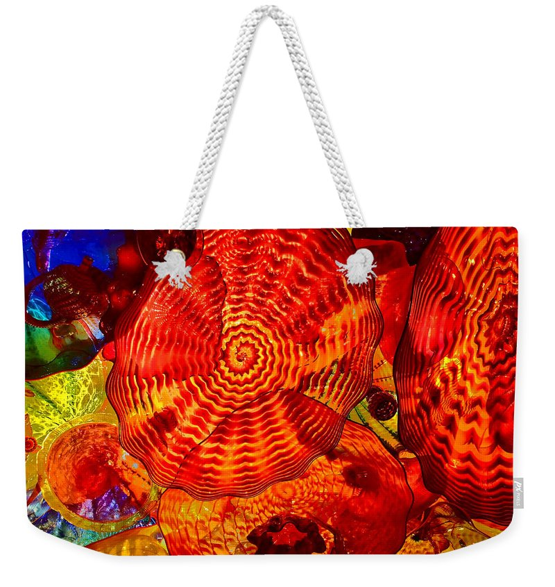 Caliope Weekender Tote Bag featuring the photograph Caliope by William Rockwell