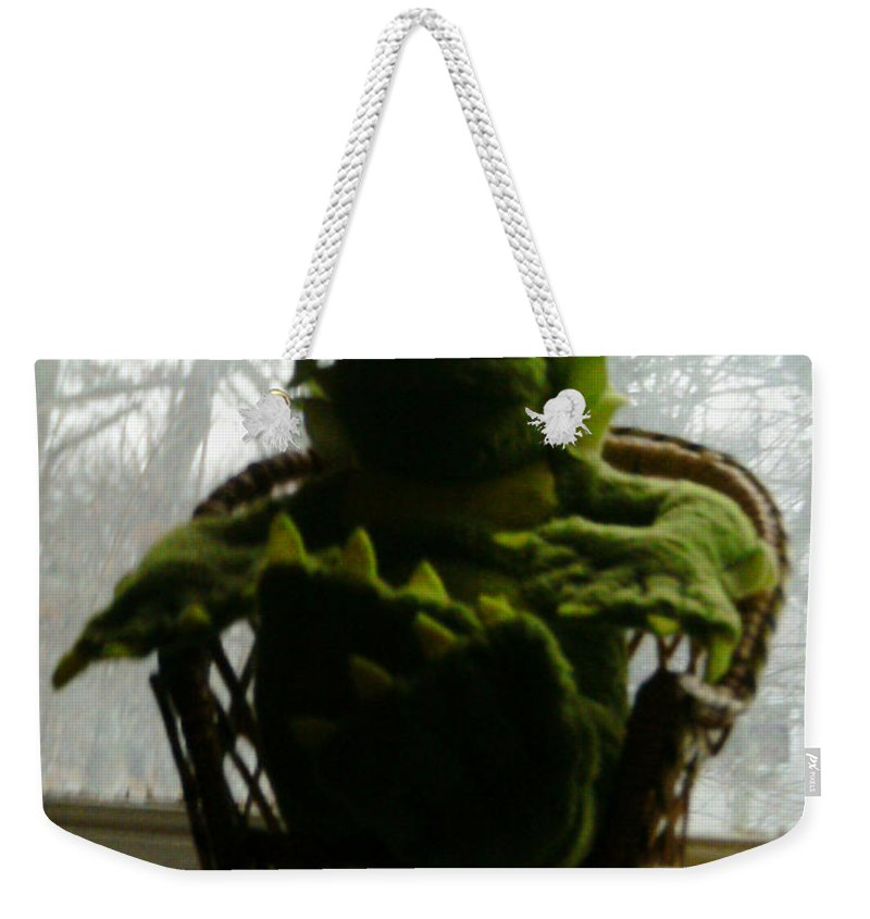 Black Lagoon Weekender Tote Bag featuring the photograph Call Me Creech by Del Gaizo