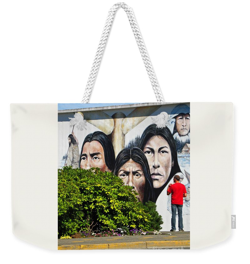 Canada Weekender Tote Bag featuring the photograph Canadian Retrospective by Ann Horn
