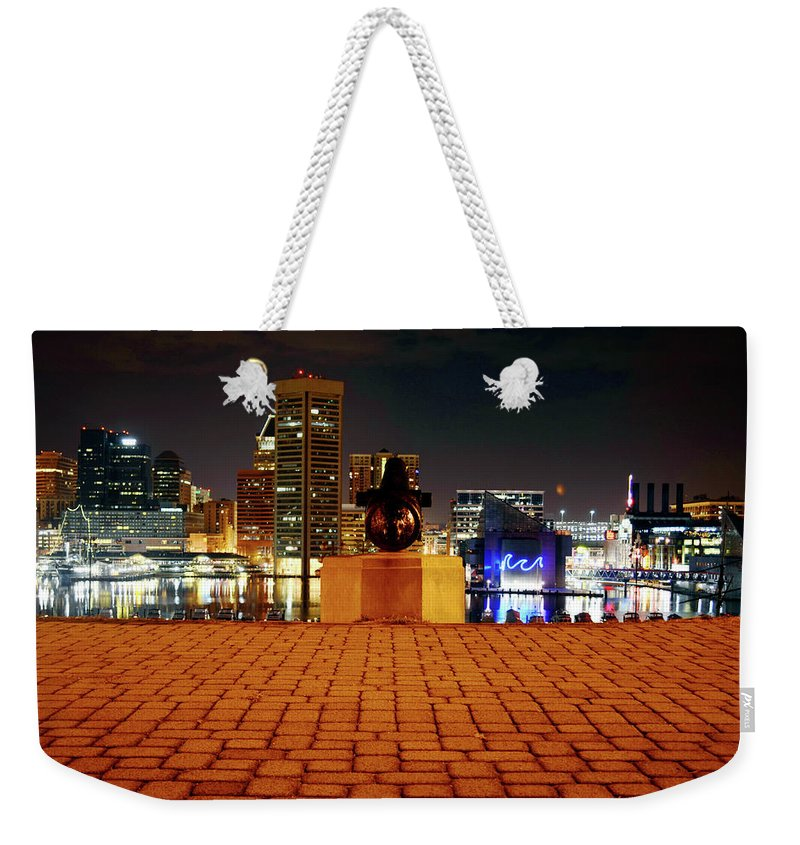City Weekender Tote Bag featuring the photograph Canon View Of The City by La Dolce Vita