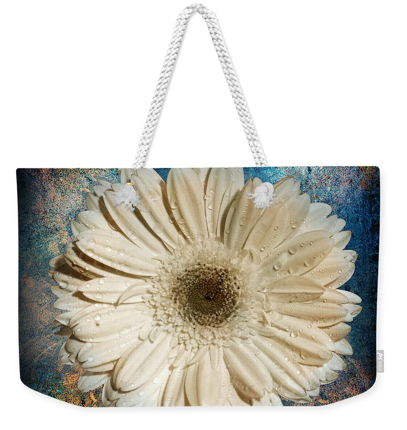 Still Life Weekender Tote Bag featuring the photograph Canvas Still by Mark Ashkenazi