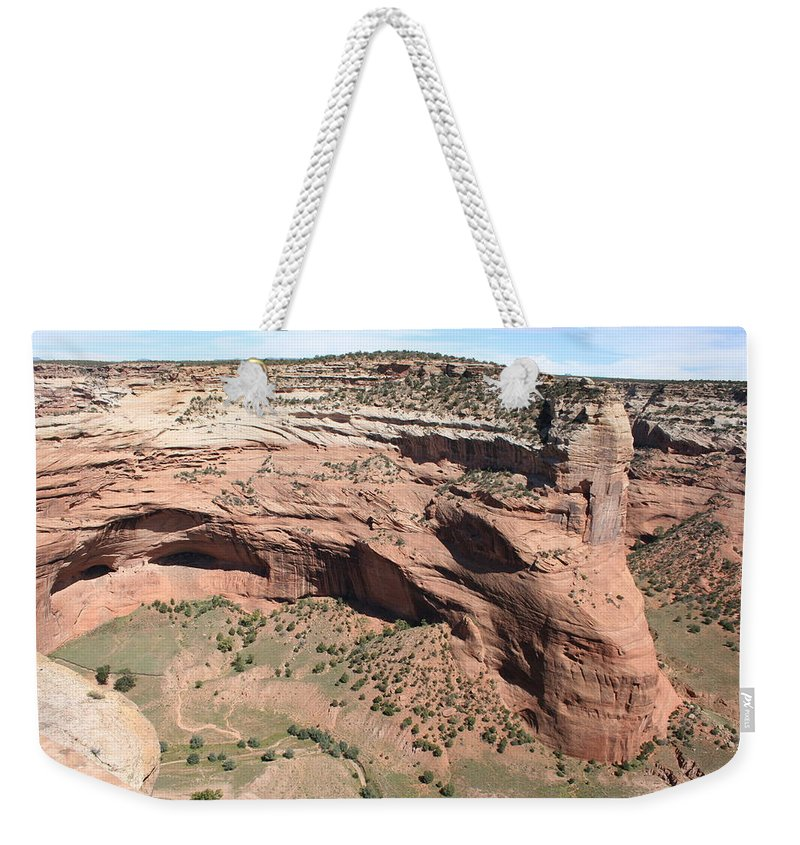 Canyon Weekender Tote Bag featuring the photograph Canyon De Chelly I by Christiane Schulze Art And Photography