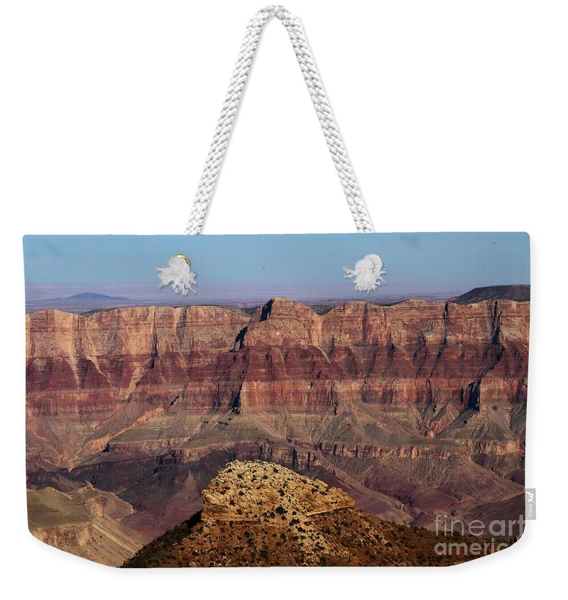 Cape Final Weekender Tote Bag featuring the photograph Cape Final Walls by Adam Jewell