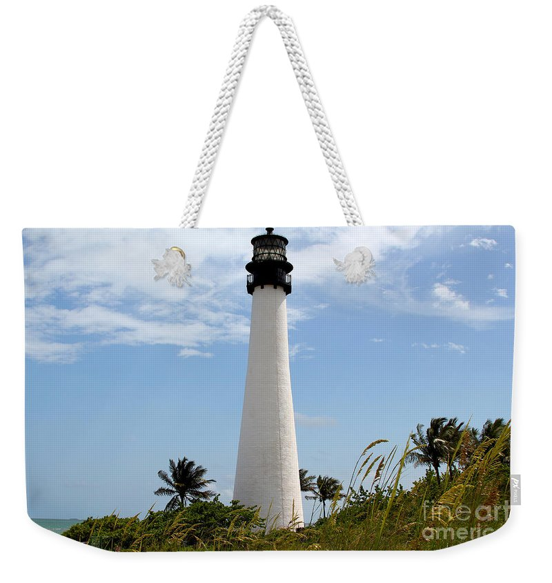 Key Biscayne Weekender Tote Bag featuring the photograph Cape Forida by Carey Chen