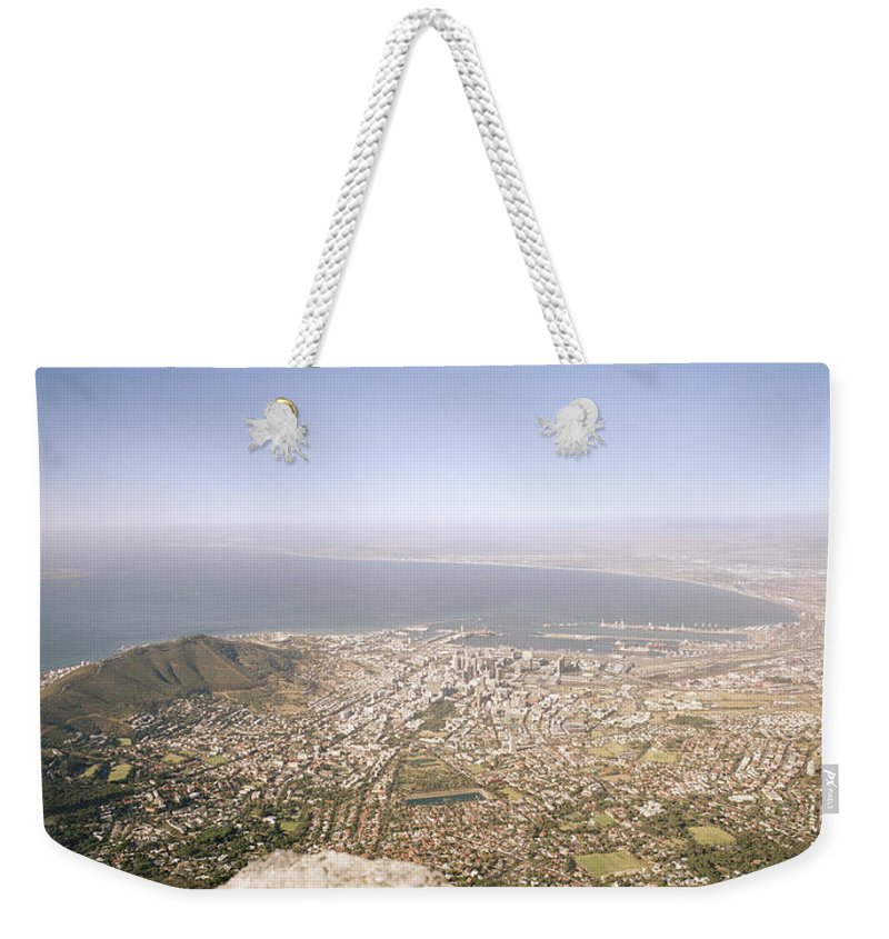 Cape Town Weekender Tote Bag featuring the photograph Cape Town Panoramic by Shaun Higson