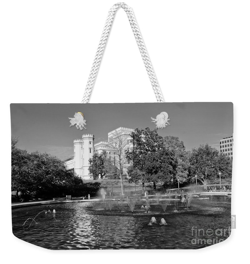 Capital Weekender Tote Bag featuring the photograph Capital by Scott Pellegrin