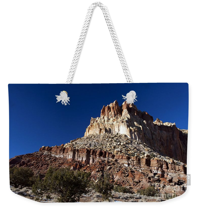 Capitol Reef Weekender Tote Bag featuring the photograph Capitol Reef National Park Utah by Jason O Watson