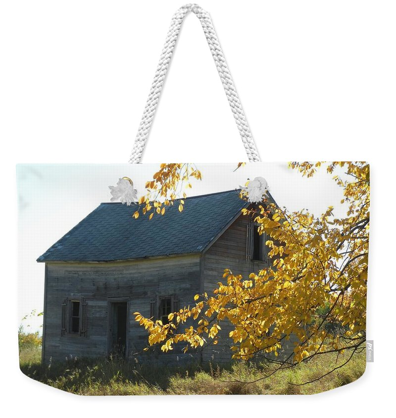 Homestead Weekender Tote Bag featuring the photograph Captain Ed's Homestead by Penny Meyers