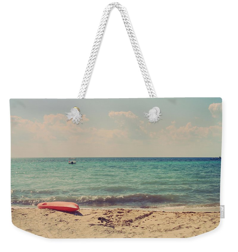 Cozumel Weekender Tote Bag featuring the photograph Carefree by Laurie Search