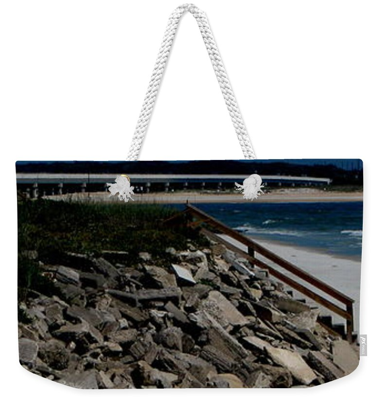 Beach Front Weekender Tote Bag featuring the photograph Caribbean Colors by Greg Patzer