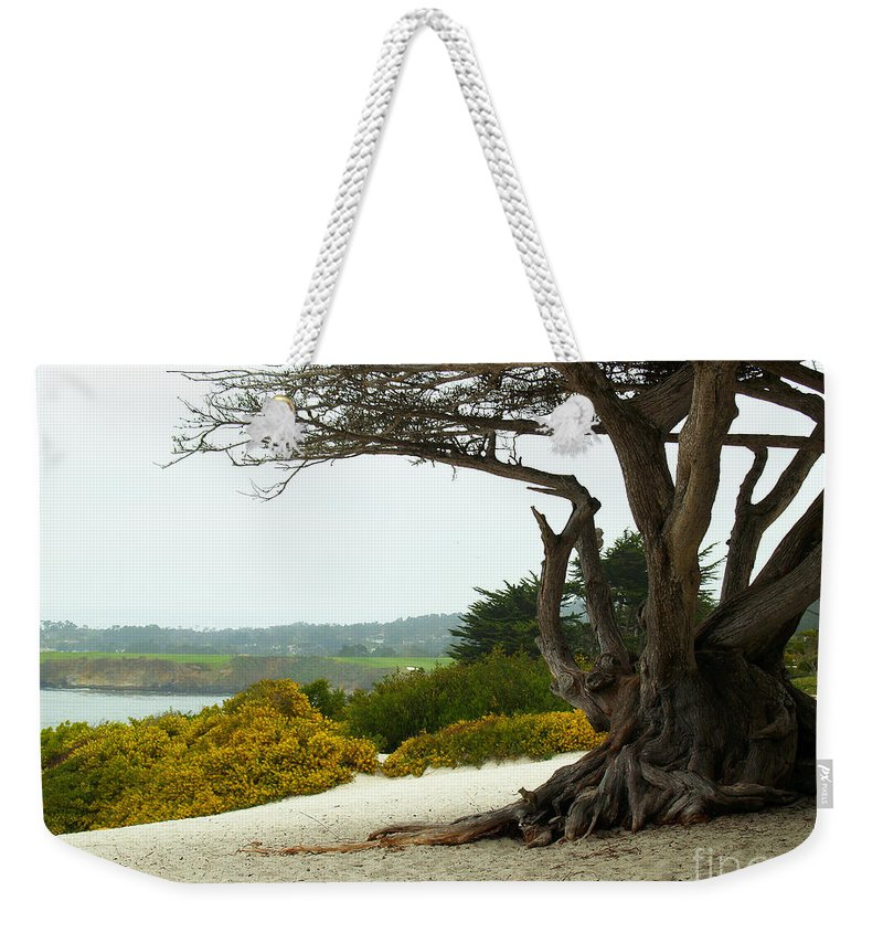 Diana Graves Photography Weekender Tote Bag featuring the photograph Carmel California Beach by K D Graves