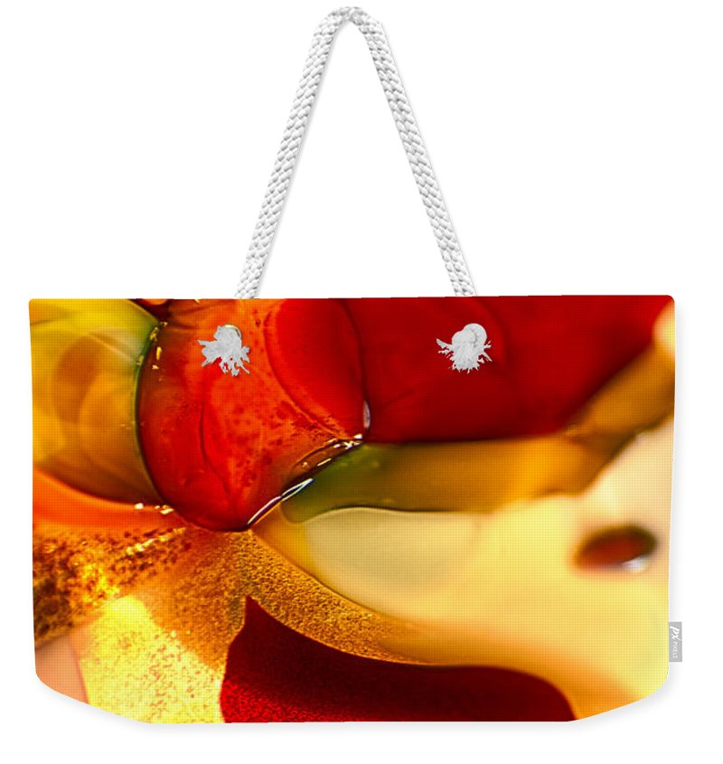 Glass Weekender Tote Bag featuring the photograph Carmen II by Omaste Witkowski