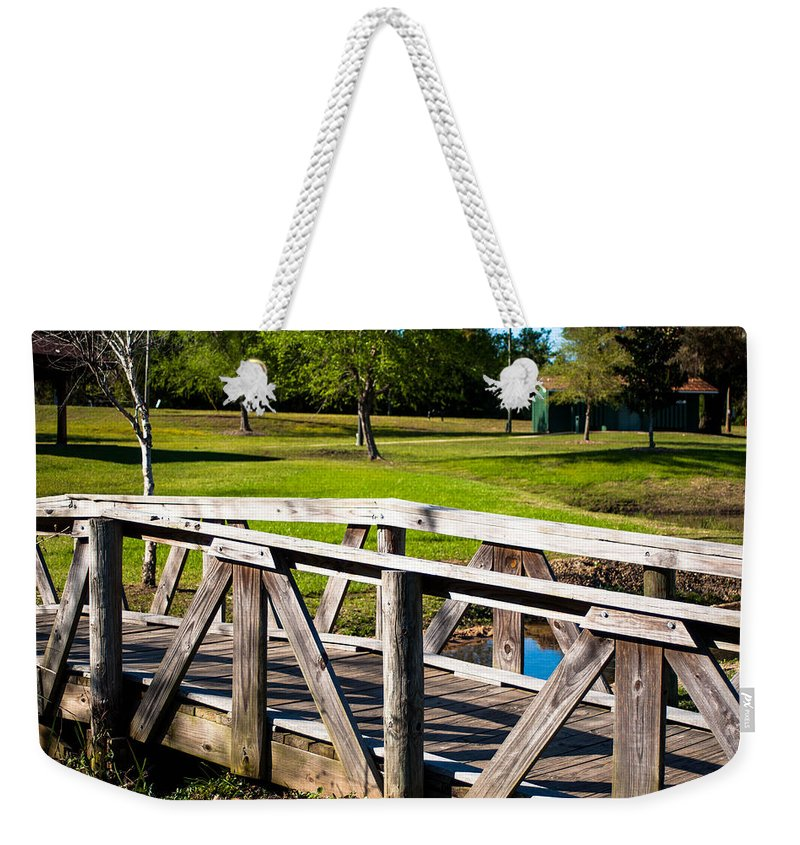 Carpenters Park Weekender Tote Bag featuring the photograph Carpenters Park 2 by Mechala Matthews