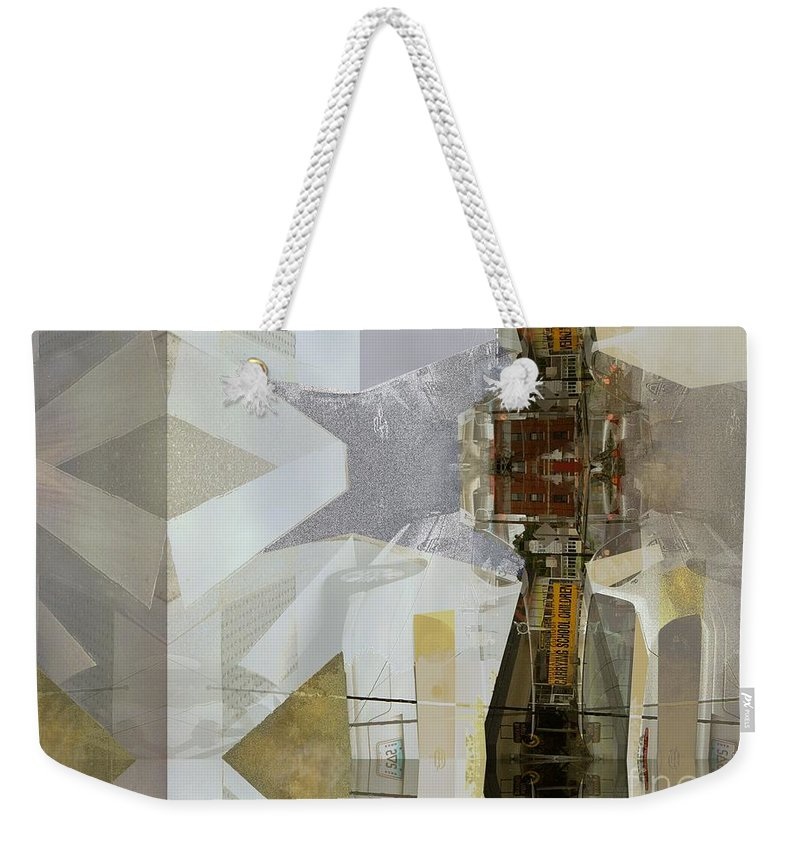 Carrying Shoolchildren Weekender Tote Bag featuring the photograph Carrying Shoolchildren by CR Leyland